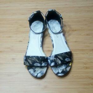 Asos Wedge Floral Sandals